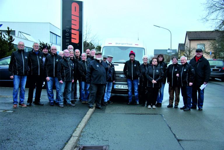 10 Jahre Bürgerbus – SPD gratuliert dem Bürgerbusteam