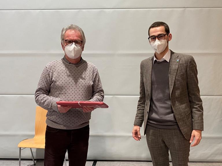 Herzlichen Dank an Günter Letfuß für 30 Jahre Zugehörigkeit zur SPD-Fraktion