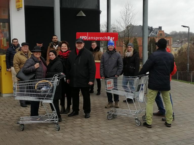 Neujahrsanstoßen der SPD