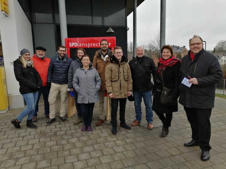 Neujahrsanstoßen der SPD - unser Kandidatenteam